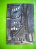 HOPCT 51865  MOSCHEEA ALBASTRA ISTANBUL TURCIA  -NECIRCULATA, Printata