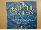 For Festive Hours : Haydn/Handel/Mozart …(1968/Orbis/RFG) - VINIL/ca Nou (NM+), emi records