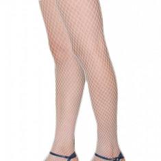 STK1 Ciorapi din plasa cu banda lata din dantela