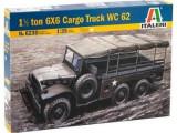 + Kit scara 1/35 Italeri 6230 - 1/2 ton 6x6 Cargo Truck WC62 +