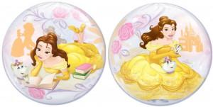 Balon Bubble 22/56cm Disney Belle, Qualatex 46727