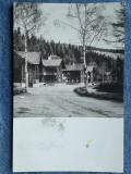 335 Muntii Cibinului Complexul turistic Paltinis / RPR cp circulata stampila1957, Necirculata, Fotografie