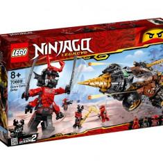 Set de constructie LEGO Ninjago Foreza de pamant a lui Cole