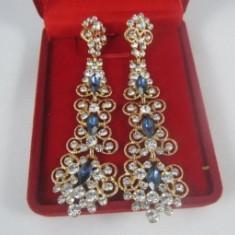 Cercei Chandelier Crystal Blue
