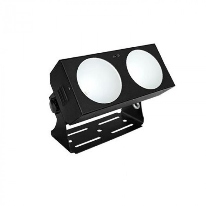Bara cu LED-uri AFX, 2 x 18 W, functie DMX, unghi de lumina reglabil