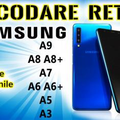 Decodare retea SAMSUNG Galaxy A9 A8 A8+ A7 A6 A6+ A5 A3 Toate Versiunile SIM Unlock