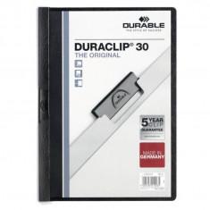 Dosar plastic Duraclip Original 30 Durable negru