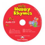 Curs limba engleza Hello Happy Rhymes Audio CD - Jenny Dooley, Virginia Evans