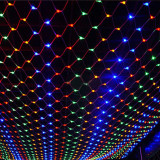 Instalatie de Craciun 3 m x 3 m , Plasa Multicolora, 360 leduri, SDX, 6017M