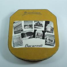 g Cutie veche pentru bomboane Dezrobirea Bucuresti, RPR perioada comunista