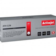 Cartus toner compatibil Q2612A 12A Black pentru HP, 2300 pagini, Premium Activejet, Garantie 5 ani