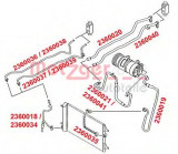 Conducta presiune variabila,aer conditionat VW SHARAN (7M8, 7M9, 7M6) (1995 - 2010) METZGER 2360034