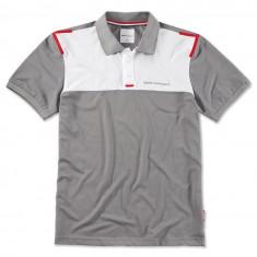 Tricou Polo Barbati Oe Bmw Golfsport Gri / Rosu / Alb Marime L 80142460940