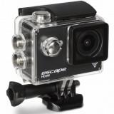 Kit Escape HD5W WiFi Action Camera + accesorii (8GB Memory Card & Travel Case), pachet bundle, Negru