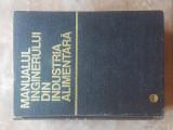 Manualul inginerului din industria alimentara, 1968