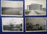 Lot 13 fotografii anii 1940: Tiraspol Teatrul, Cetăți la Nistru, etc.