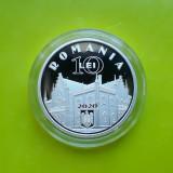 10 Lei 2020 PROOF 200 ani de la nasterea lui Alexandru Ioan Cuza argint Romania