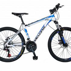 Bicicleta MTB HT 26 FIVE Moon cadru aluminiu culoare alb albastru