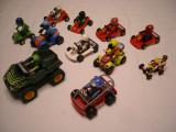 Playmobil - 11 masini, atv, cart-uri