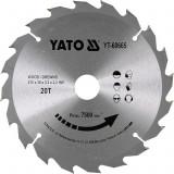 YATO Disc circular pentru lemn 210 x 30 x 3.2 T20