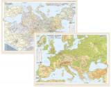 Europa - Harta politica/fizica |