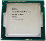 Procesor i3 4330 intel, 3.5 GHz , 4 MB Cache , HD Graphics 4600- socket 1150, Intel Core i3
