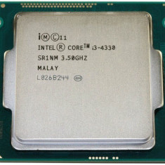 Procesor i3 4330 intel, 3.5 GHz , 4 MB Cache , HD Graphics 4600- socket 1150