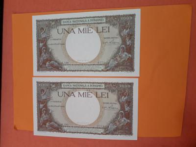 Bancnote romanesti 1000lei 1939 unc serii consecutive foto