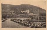 Busteni,Castelul Cantacuzino,cu album 10 CP,scanate 8x4,fascicul, Necirculata, Printata