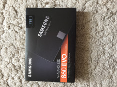 SSD Samsung 860 evo 1tb Nou Sigilat foto