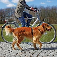 Lesa pentru Bicicleta si Jogging 1-2 m/25 mm Negru 1282