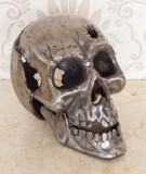 Decoratie Craniu Metalic