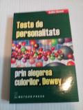 Teste de personalitate prin alegerea culorilor Dewey - Dewey Sadka