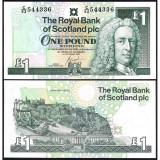 = SCOTLAND – 1 POUND – 2001 – UNC =