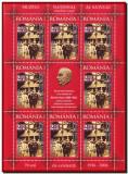 2006 Romania, Muzeul Satului minicoala de 8 timbre + 1 vinieta, LP 1721 a MNH, Istorie, Nestampilat