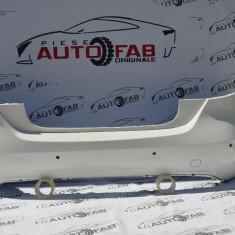 Bară spate Merdeces-Benz A-Class an 2012-2016 cu găuri pentru Parktronic și camere