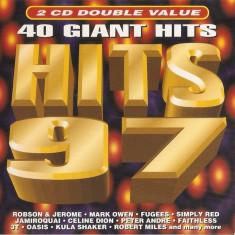 Set 2 CD Hits 97, originale: Celine Dion, Prodigy