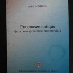 Pragmasemantique de la correspondance commerciale-Emilia Bondrea