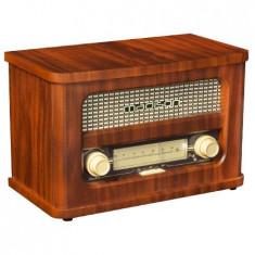 Radio retro fm cu acumulator, bluetooth