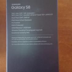 Telefon Samsung Galaxy S8 Midnight Black, Negru, Neblocat, 5.8''