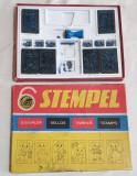 Jucarie veche comunista Joc vesel educativ si antrenant STEMPEL Micul Tipograf