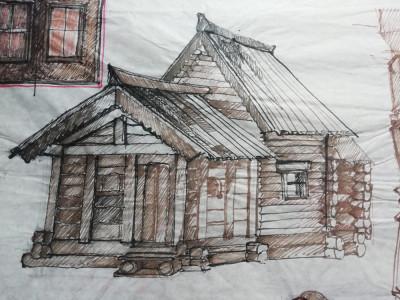 Desen scenografie de teatru - mobila foto