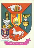 TSV* - MAXIMA IASI - STEMA JUDETULUI HERALDICA `78