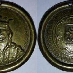 Medalie cu toarta (1904?) Stefan cel Mare, 33mm
