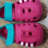 Sandale fata Adidas, 24, Rosu