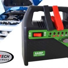 Incarcator acumulator auto automat 6V-12V redresor cu led nivel incarcare