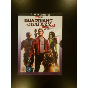 Filme Marvel Guardians Of The Galaxy DVD BoxSet Complete Collection