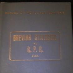 BREVIAR STATISTIC AL R P R /1965-372 PG-