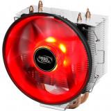 Cooler procesor DeepCool Gammaxx 300 R , 120 mm , LED Rosu , Compatibil Intel si AMD
