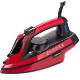 Cumpara ieftin Fier de calcat Daewoo DSI3000R, 3000 W, 280 ml, abur vertical, anti-calcar, oprire automata, Rosu/Negru